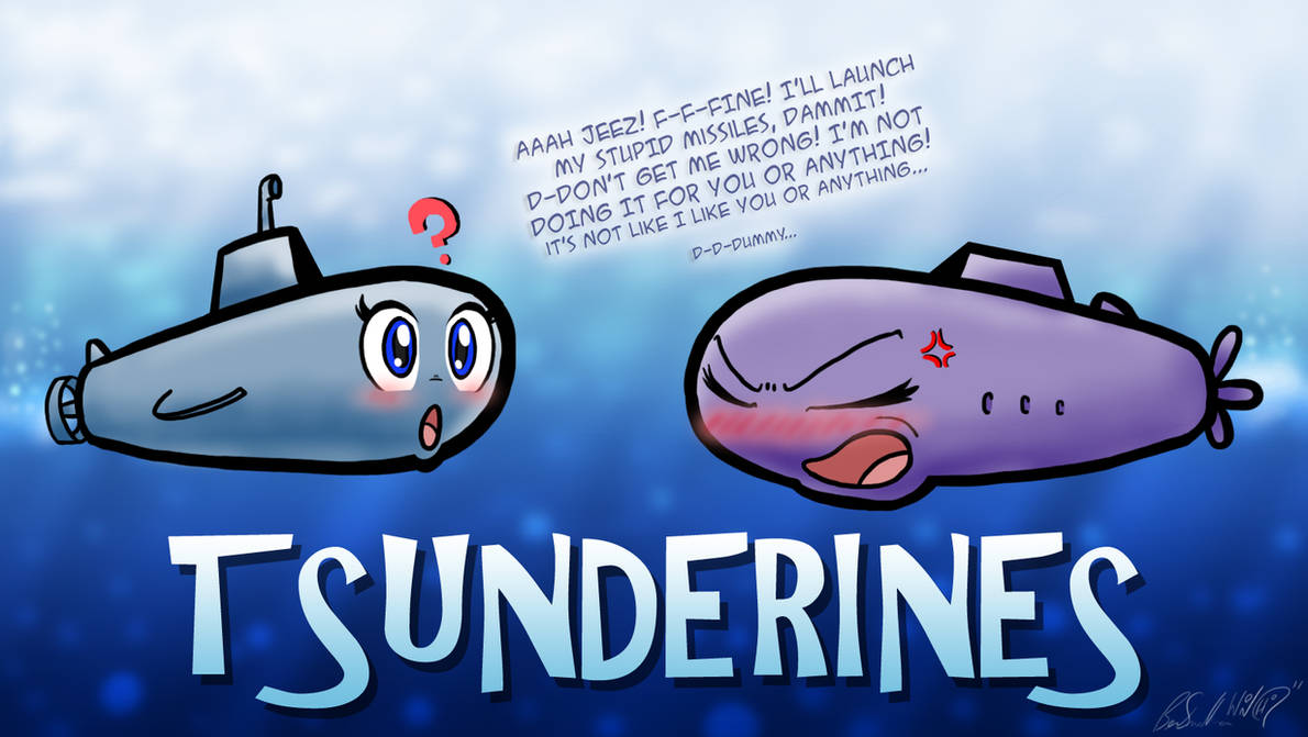 Tsunderines by Wonchop