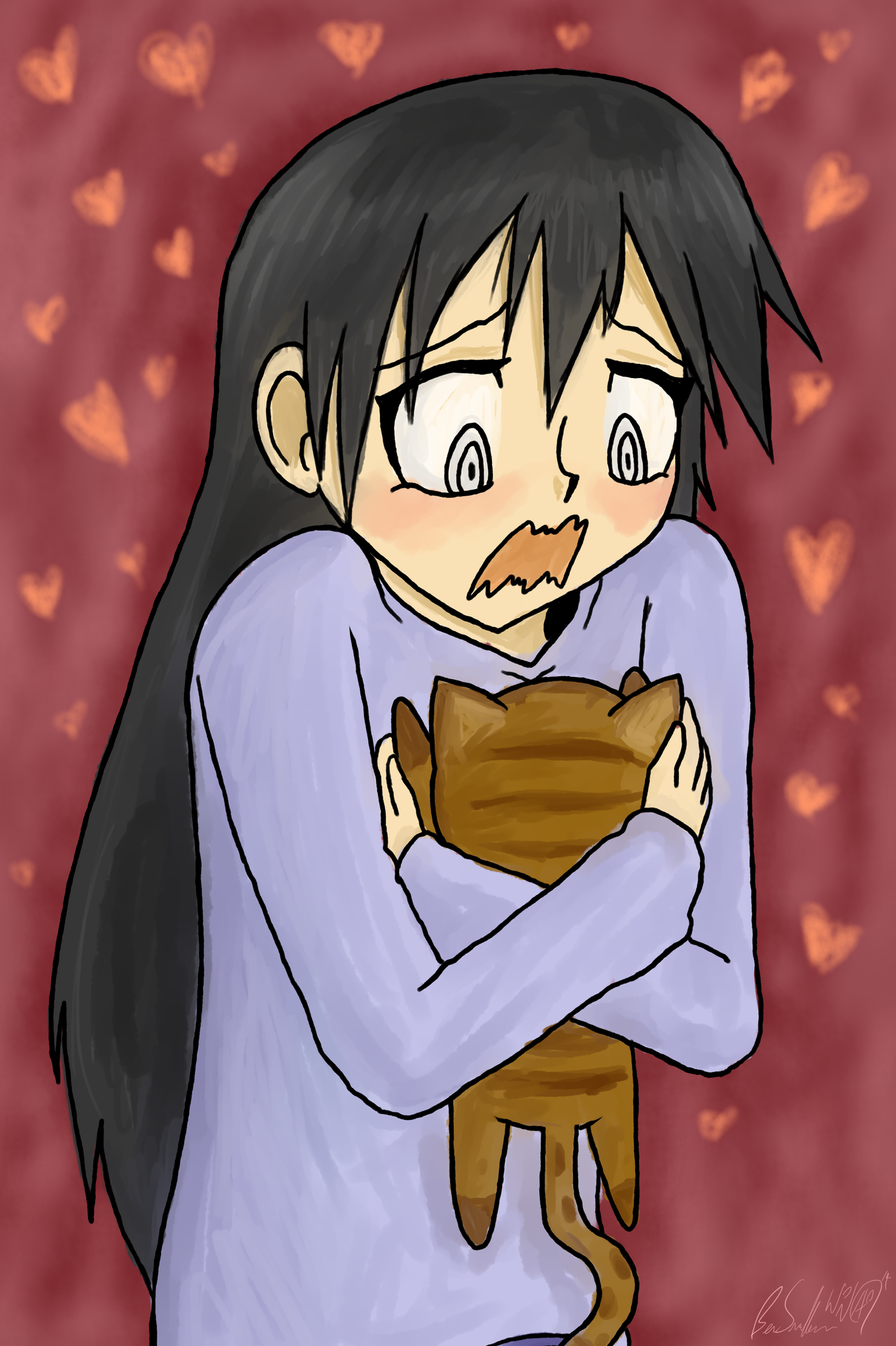 Sakaki-san is too darn cute by Wonchop