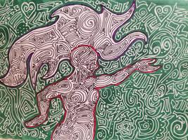 I made lines.  by Derekcandoodle