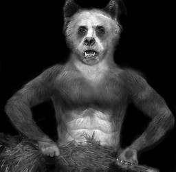 Werepanda by oboroten