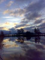 Sunrise mirrored... IX by vonderwall