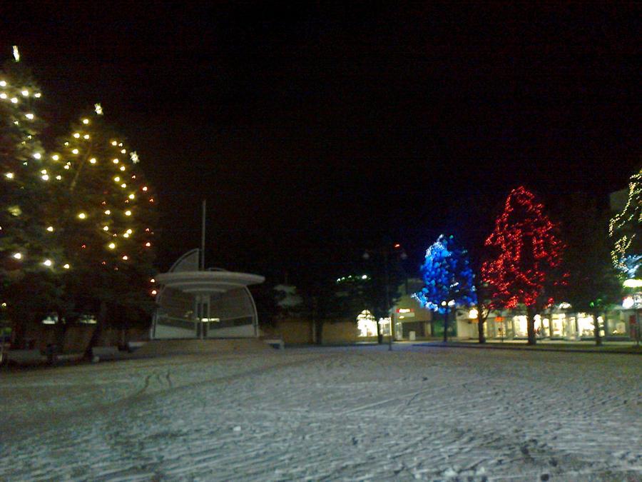 Christmas park, Harkatorinpuisto IV by vonderwall