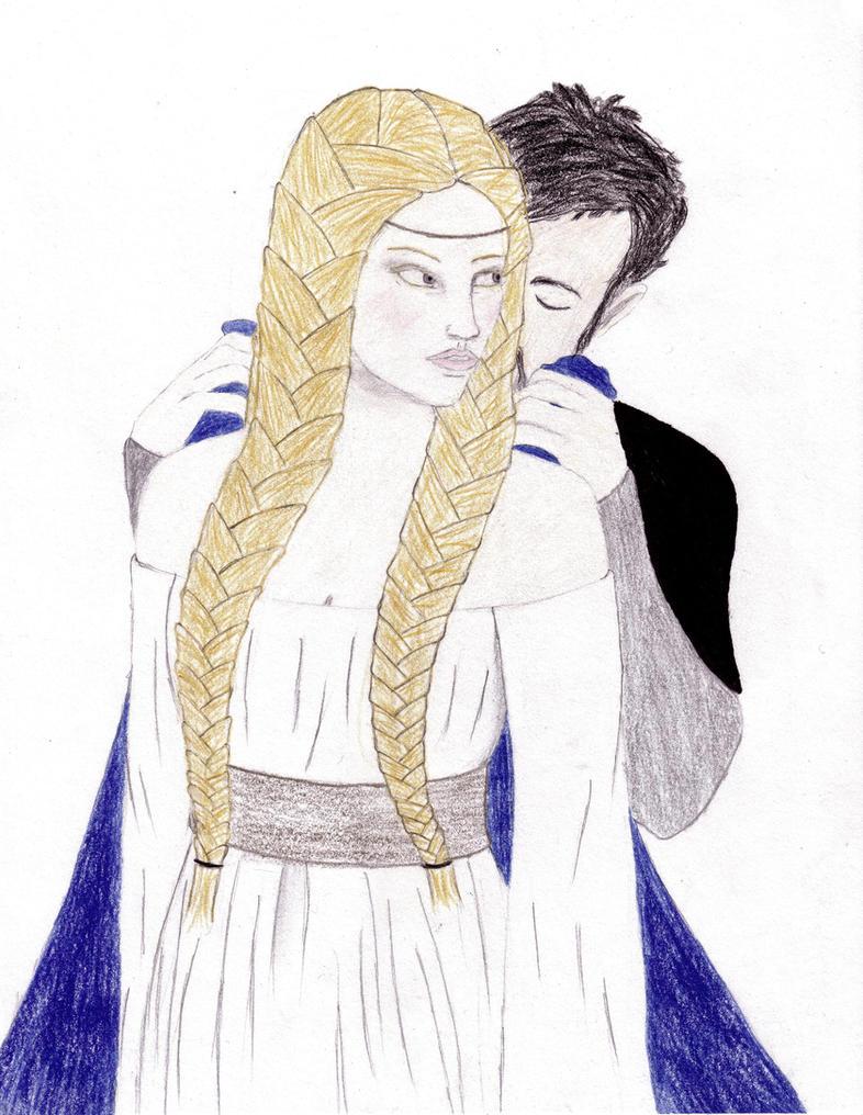 Eowyn and Faramir by FaelaElana