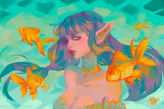 Swimming with Gold