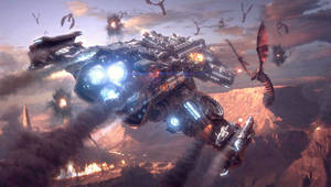 Terran Battlecruiser Downfall by 1D3NT1F1C4T1ON-Cain