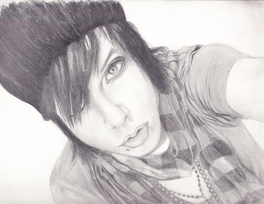 Andy Sixx by lizabethparentEasy Andy Biersack Drawing
