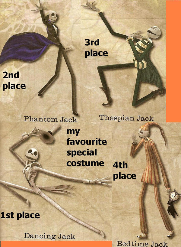 jacks special costumes by skeletonjon
