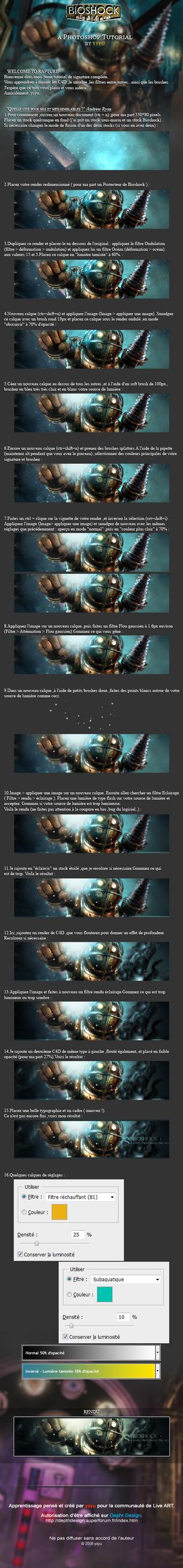 FR tuto : Bioshock tag by ysyu
