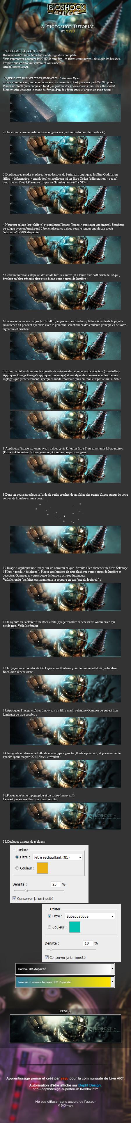 FR tuto : Bioshock tag