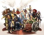 X-Men Family Photo