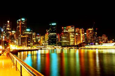 Sydney by Night by phoenixlovebach