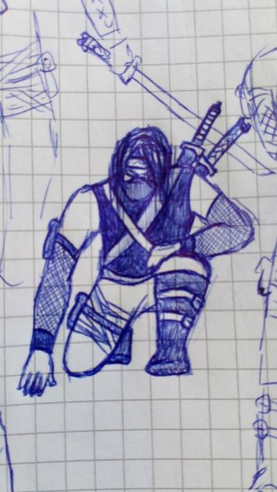 Shinobi #3 in male by Kysmus