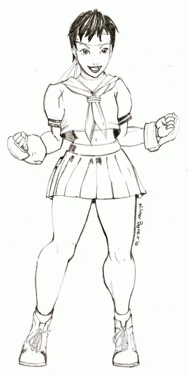 Sakura Chan by wiler11