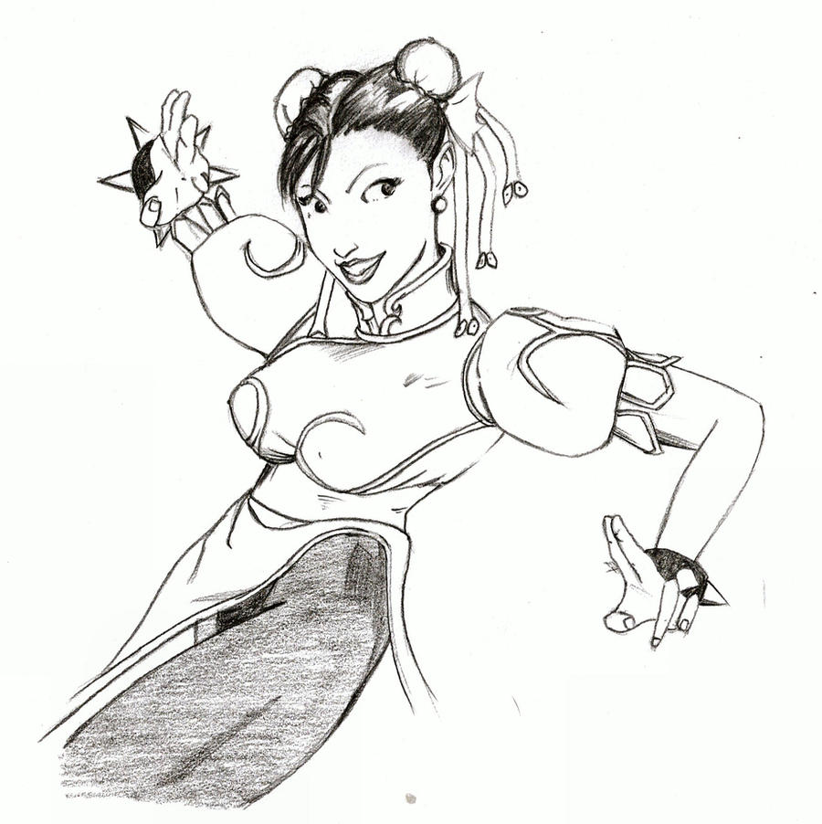 More Chun LI by wiler11