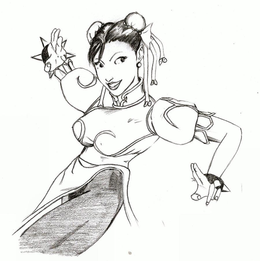 More Chun LI by wiler11