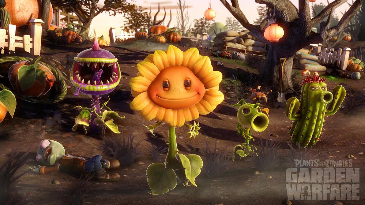 Plants Vs. Zombies: Garden Warfare by AcerSense on DeviantArt