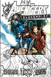Avengers Disassembled by radicalthunder