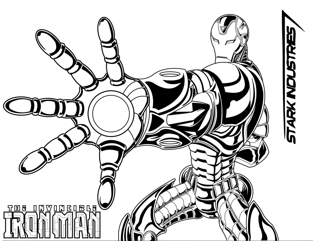 Ironman Sketch Traced by radicalthunder on DeviantArt
