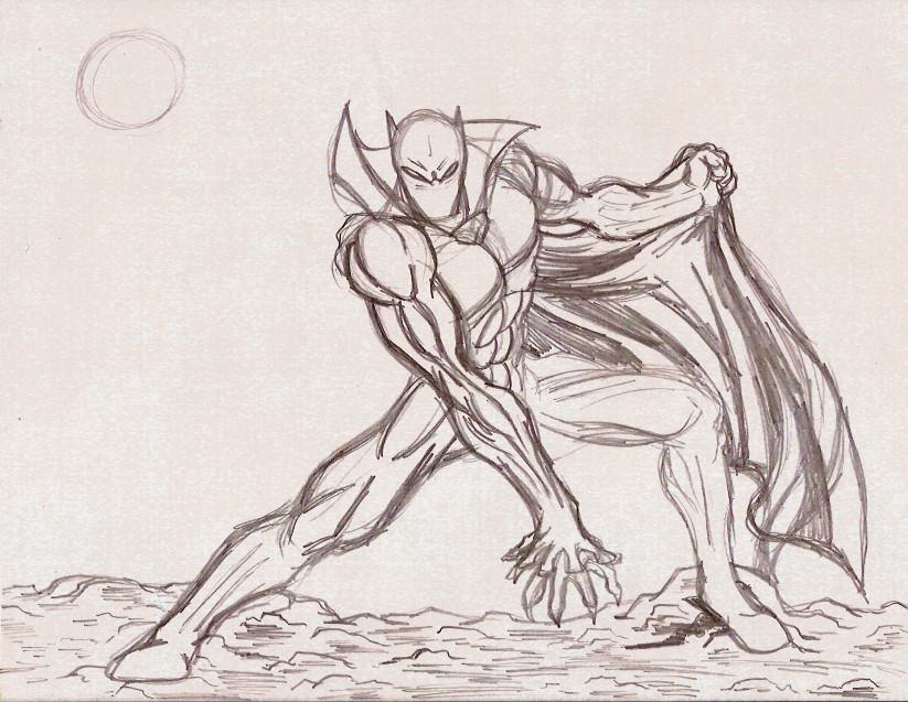 Black Panther First Sketch By Radicalthunder On DeviantArt