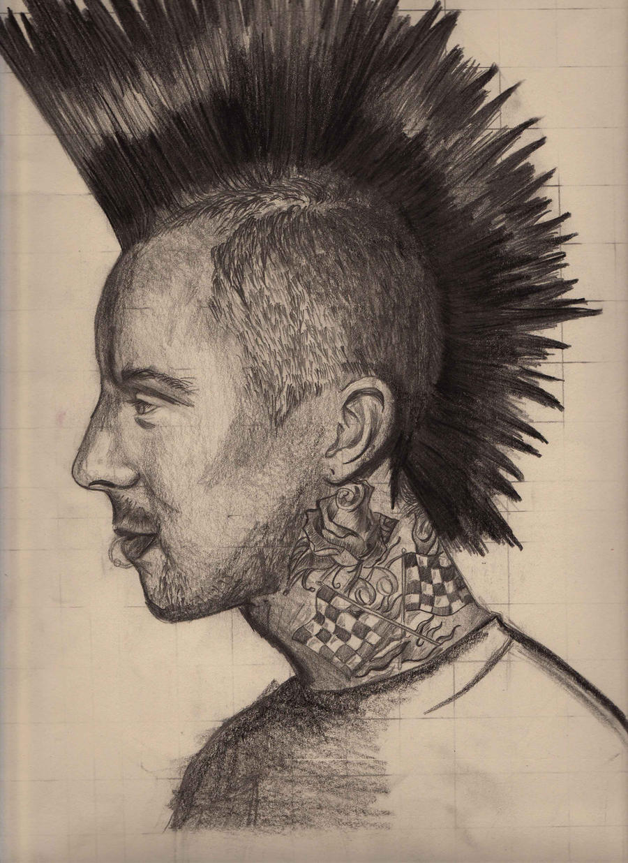 Travis Barker by dearadrianne