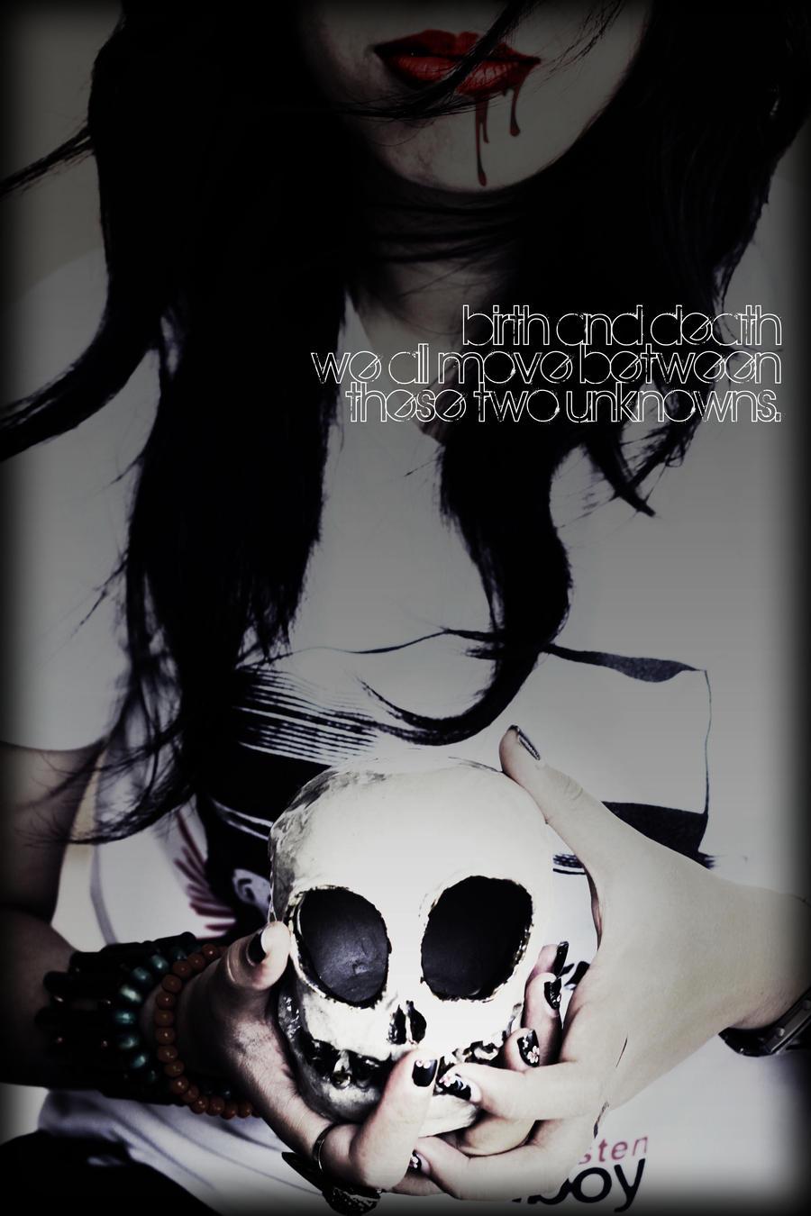 skull by dearadrianne