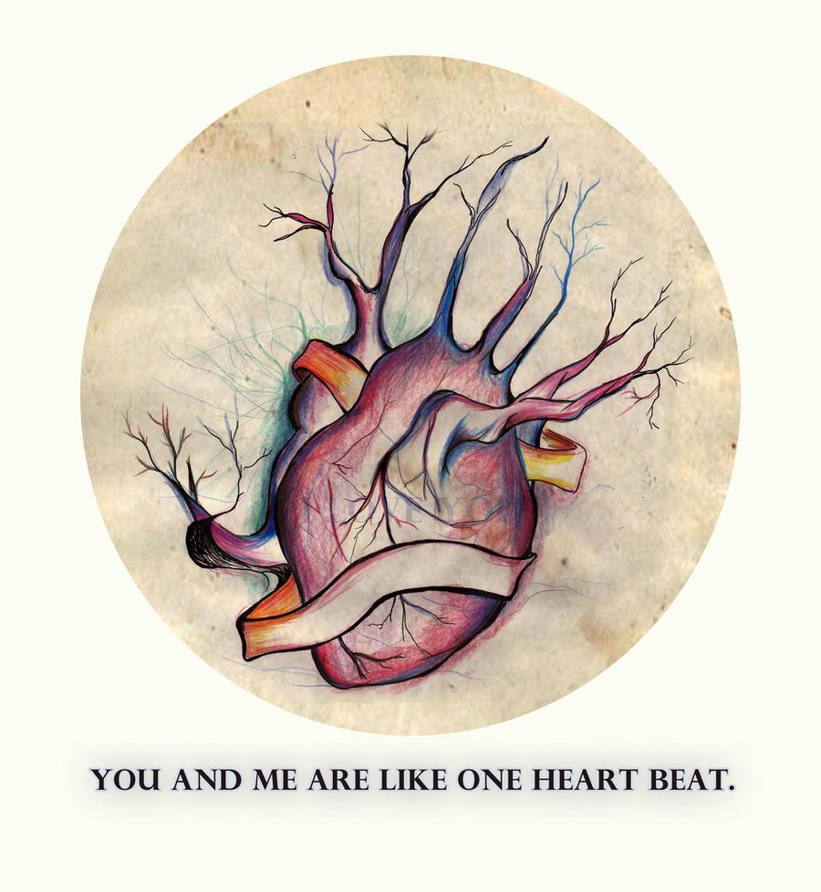 ONE HEART BEAT by dearadrianne