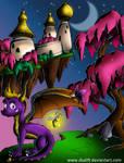 spyro-dragon village