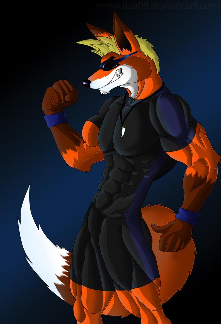 Garrett the fox by DSA09
