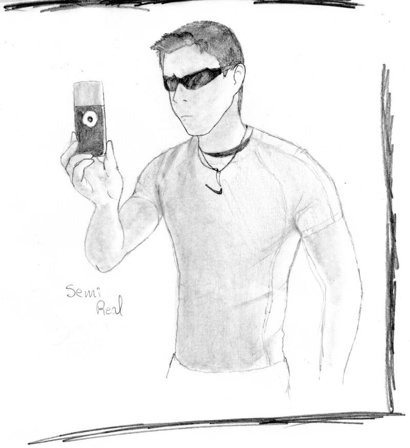 myself in a cartoon way by DSA09