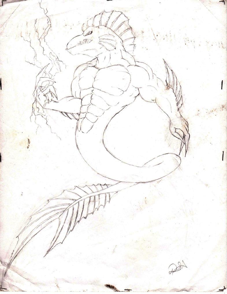 anthro eel by DSA09