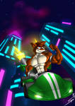CTR Nitro Fueled Crunch Bandicoot is here by DSA09