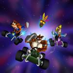 Team Bandicoot, crash team racing nitro fueled