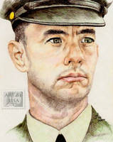 Tom Hanks as Forrest Gump by LadyGray01