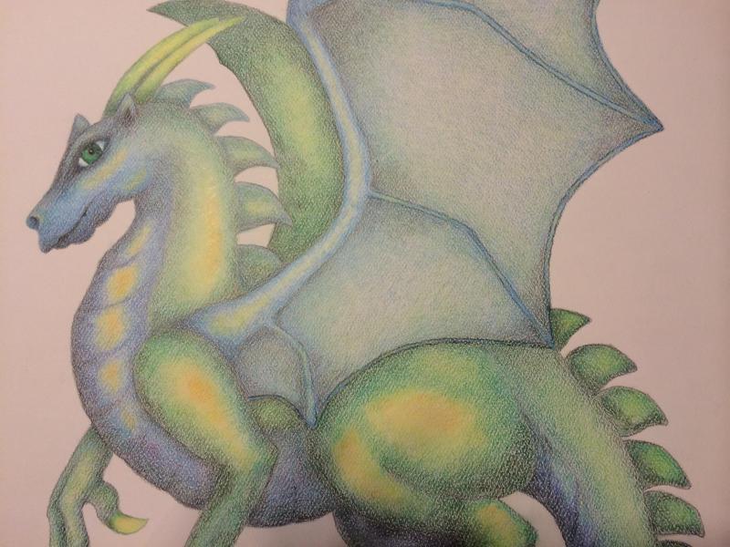 Dragon by LadyGray01
