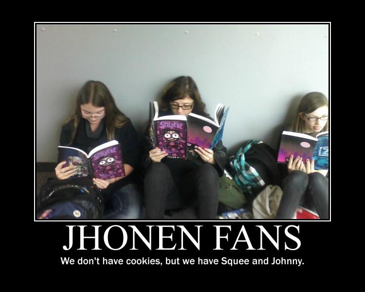 Jhonen Fans Demotivational by Tespeon