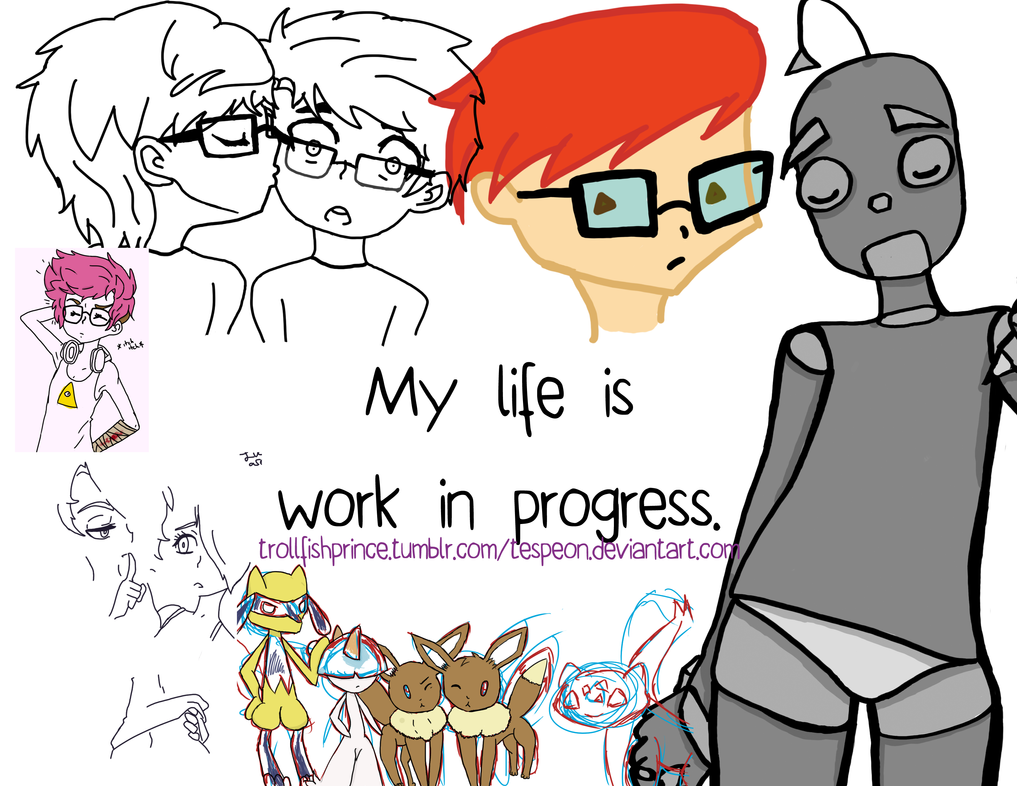 Some work in progress by Tespeon