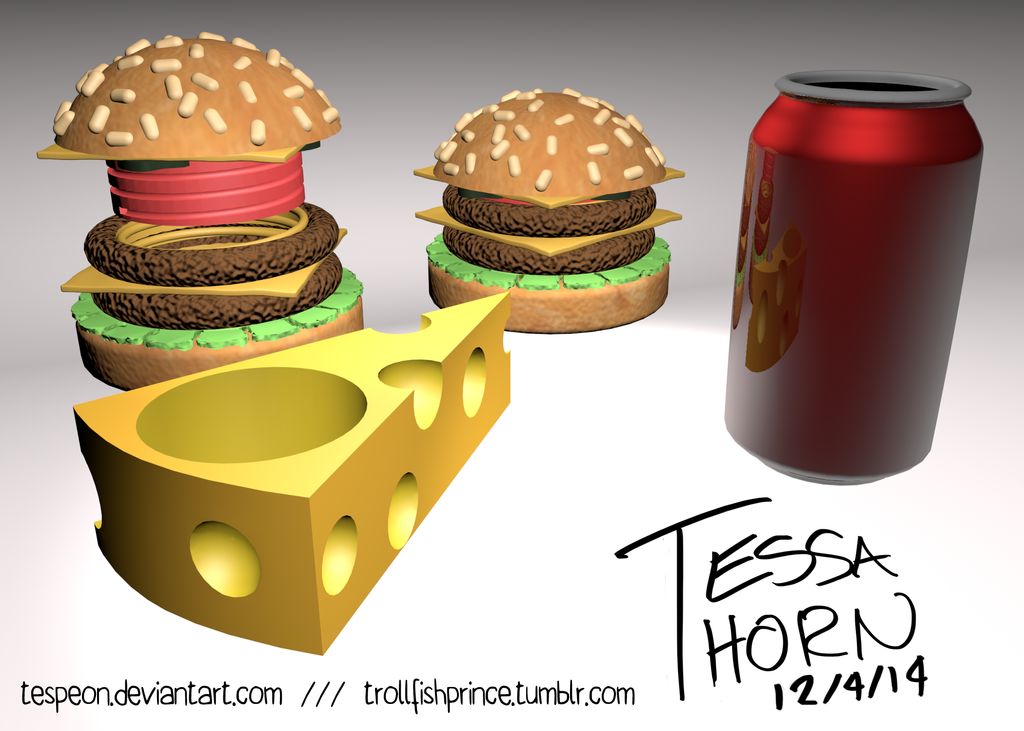 Food Case Collection by Tespeon