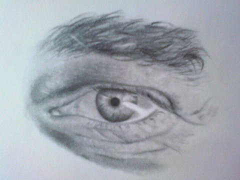 Pictures Of Man Eyes Sketch Rock Cafe