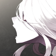 White hair Anime girl avatar by DarKSunElite