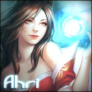 Ahri Avatar by DarKSunElite