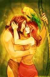 Tarzan and Jane by MabyMin