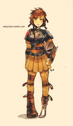 Fem!Hiccup by MabyMin