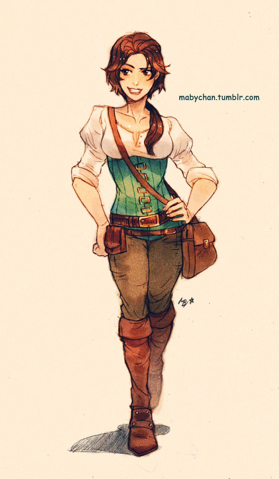 Fem!Eugene by Maby-chan