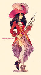 Fem!Captain Hook by MabyMin