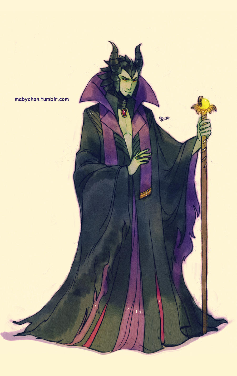 Maleficent Dragon Wallpaper Male!Maleficent by Mab...