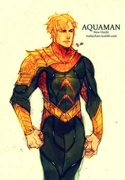 Aquaman New Outfit