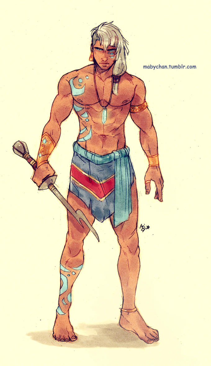 Male!Kida by Maby-chan on DeviantArt