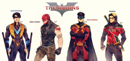 The Robins by MabyMin