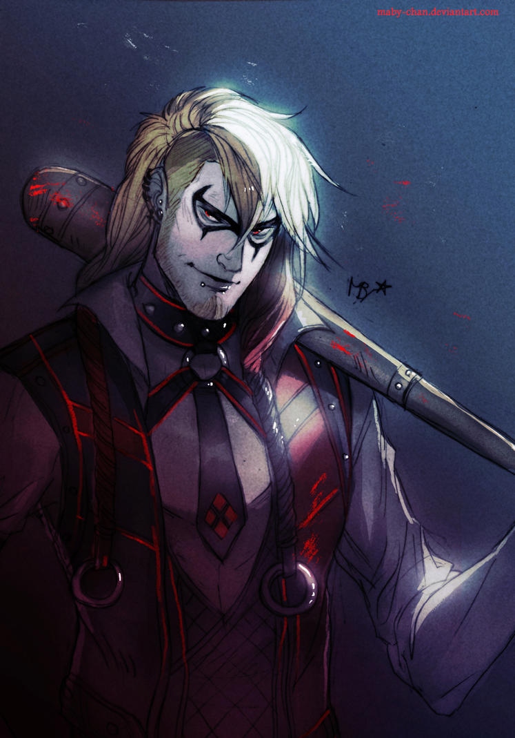 Male!Harley Quinn (Batman) by Maby-chan