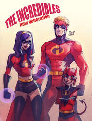 The incredibles by MabyMin